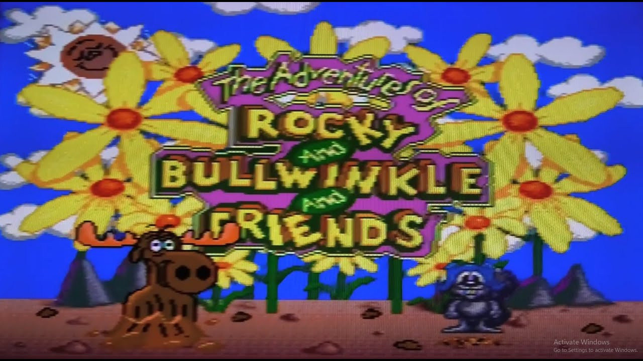 Rocky And Bullwinkle - Sega Genesis Review #636 (Retro Sunday)