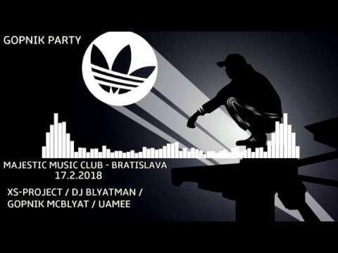 17.02.2018 Gopnik Party Bratislava! - uamee invites!