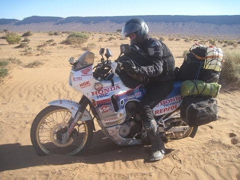 [Slow TV] Motorcycle Ride - Morocco - Foum Zguid to Zagora