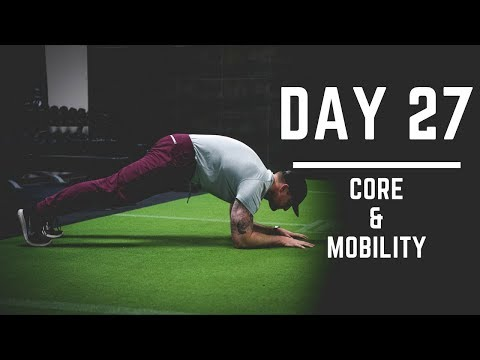 Day 27: Mobility & Core Workout - 30 Days of Training (MIND PUMP)
