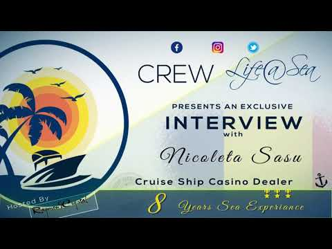 Who said ghost's don't go cruising with Casino Dealer NICOLETA SASU
