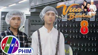 image Vua bánh mì - Tập 8[4]: Ông Đạt đưa ra 4 loại bột để kiểm tra năng lực của 2 đứa con trai