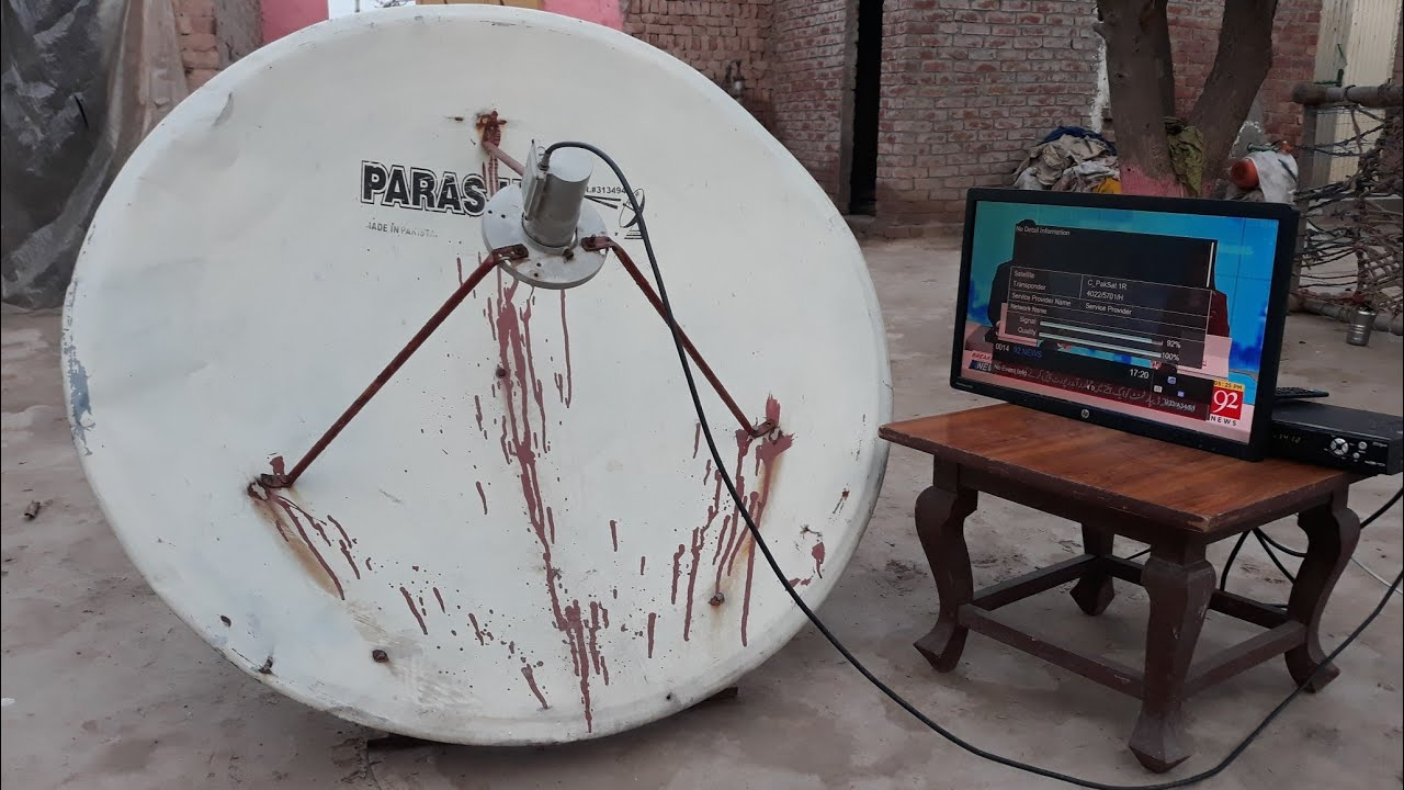 Download How to set || 4feet dish on paksat 38e 2020