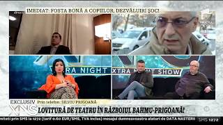 "Silviu Prigoana si Adriana Bahmuteanu, scandal in direct la ""Xtra Night Show"""