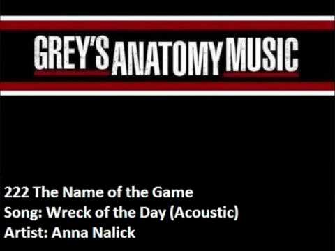 222 Anna Nalick - Wreck of the Day (Acoustic)