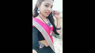 Hot aunty romantic sexy dance in saree | Hot Body Show | Navel Show | Cleavage show