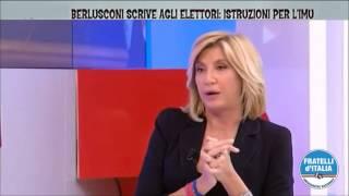 Giorgia Meloni ospite di Myrta Merlino su La7