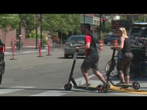 Boise adopts new e-scooter rules in an effort to improve safety