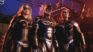 Batman Family vs Mr. Freeze & Bane | Batman & Robin