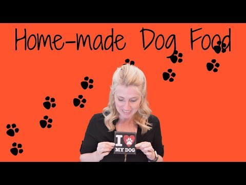 Homemade Dog Food Home Made Dog Food Meatballs 4 Different Recipes