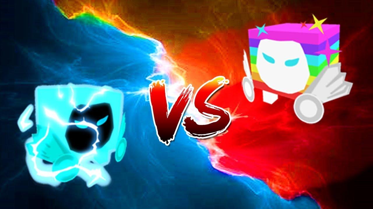 Dominus Electric VS Dominus Rainbow! - Pet Simulator