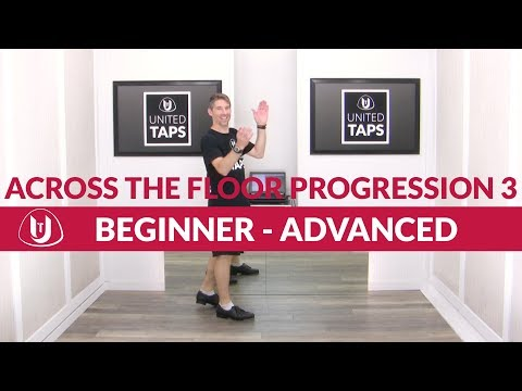 Across The Floor Tap Dance Progression 3 By Rod Howell