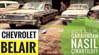 Tozlu Garaj'dan 64 Chevrolet'i nasıl çıkardık? Detailing öncesi Rüya Garaj'a Nasıl Gitti?