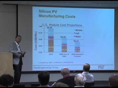 Tailoring Solar and Thermal Radiation with Nanostructures for Energy Applications - Gang Chen