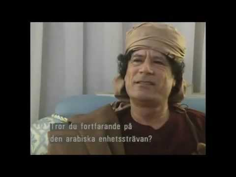 Muammar Gaddafi interview in 1990