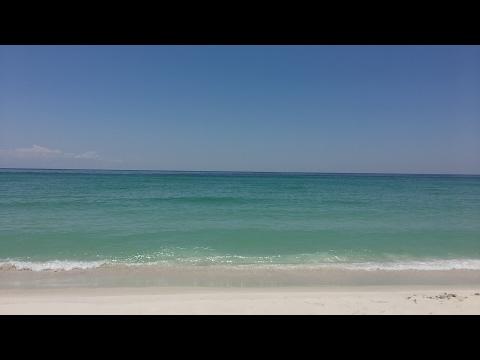 En la playa en Pensacola Florida