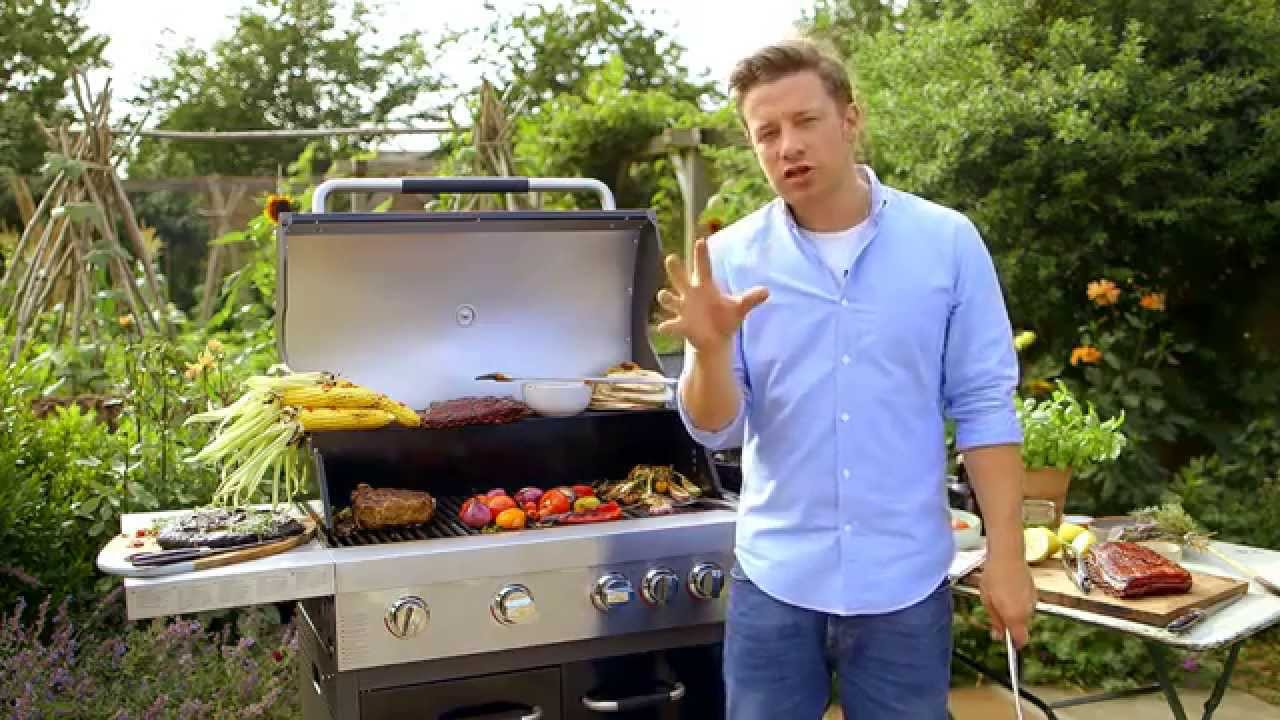 Jamie Oliver Gasgrill Home Test : Jamie oliver on preventing burnt bbq food youtube