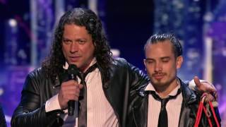 AGT Judges Cuts: George Lopez gives Golden Buzzer to Malevo