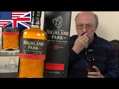Whisky Review/Tasting: Highland Park 18 years
