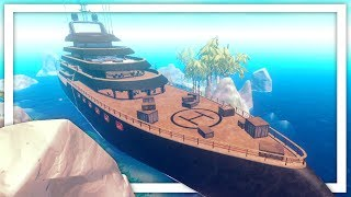 I Found The Secret Abandoned Cruise Ship In The New Raft Update