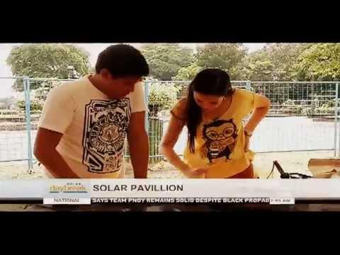 SOLAR DAYBREAK: Solar Pavilion