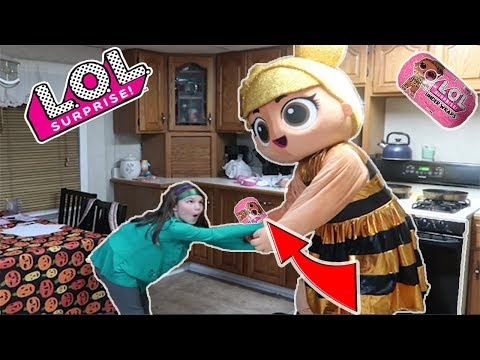 LOL Surprise In Real Life Takes My Lol Dolls! Series 4 Lol Surprise Underwraps Scavenger Hunt