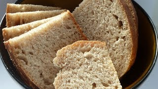 Как испечь домашний хлеб на закваске в духовке