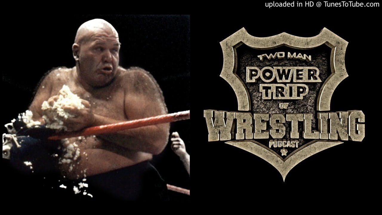 George The Animal Steele On The Origin Of His Green Tounge & Eating  Turnbuckle Pads