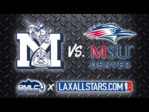 Colorado School of Mines vs Metro State - Rocky Mountain Lacrosse D2 Semifinal