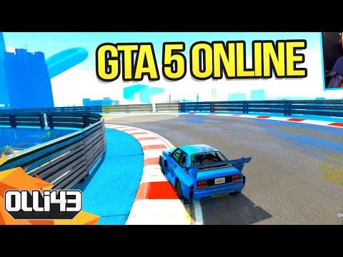 GTA 5 MODDED RACES! w/ Hike & Friends (GTA 5 Funny Moments)