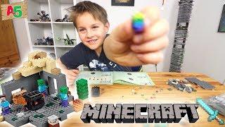 Mein erstes LEGO Minecraft - 21119 Das Verlies 👦 Ash5ive 🙃 Spielzeug und Kinderkanal 🤪