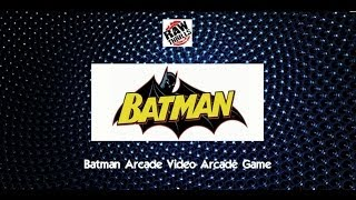 Batman Arcade Video Arcade Game - BOSA 2014 Silver Medal Winner - BMIGaming - Raw Thrills