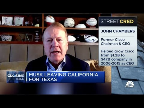 Big companies leaving California is a real warning sign about future: Fmr. Cisco CEO