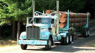 1974 Kenworth 12v71 James returning home after the Truck Show 8-28-11 Part one