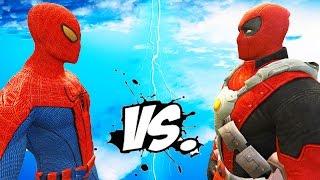 The Amazing Spider-Man vs Deadpool - Epic Superheroes Battle