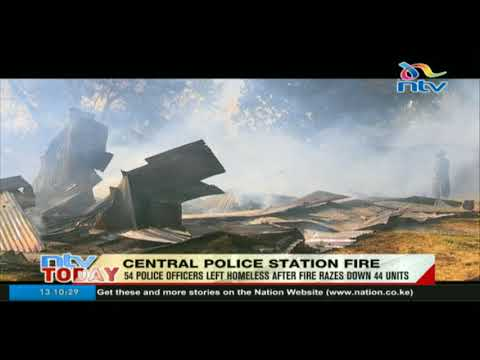 There will be plans to compensate officers affected by Central Police station fire