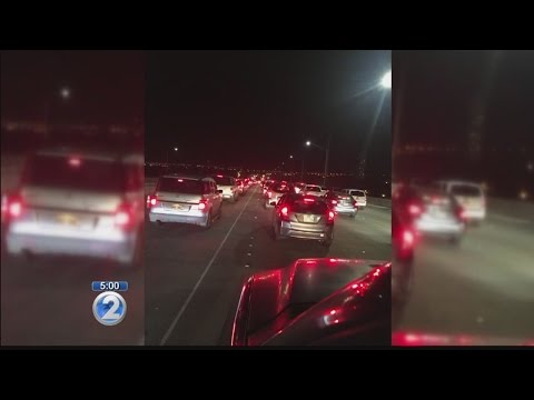 Road projects could trigger second night of heavy freeway traffic