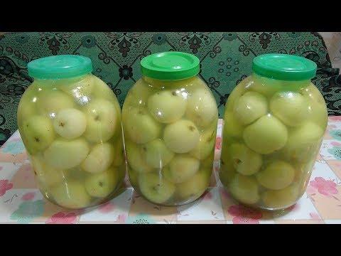 Как замочить яблоки в бочке видео