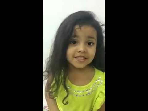 Cute Baby Indian knowledge about States and Capitals