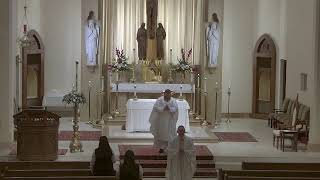 Fourth Sunday of  Easter - Saturday Vigil Mass at St. Joseph's with Father Touzeau