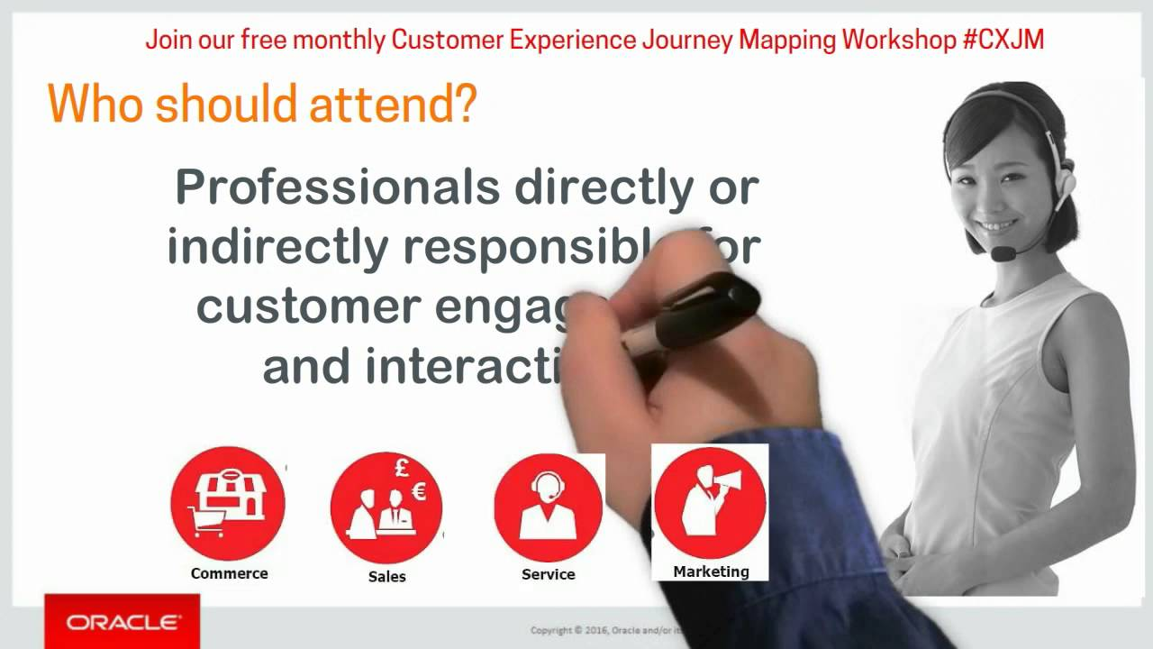 Oracle Customer Experience Journey Mapping WorkshopLondon CXJM - Oracle customer experience journey mapping
