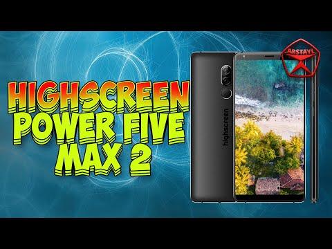 Highscreen Power Five Max 2. Российский смартфон / Арстайл /