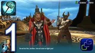 Thor: The Dark World - The Official Game Android Walkthrough - Gameplay Part 1 - Asgard: Stage 1-2