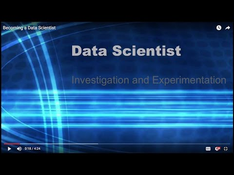Becoming Data Scientist