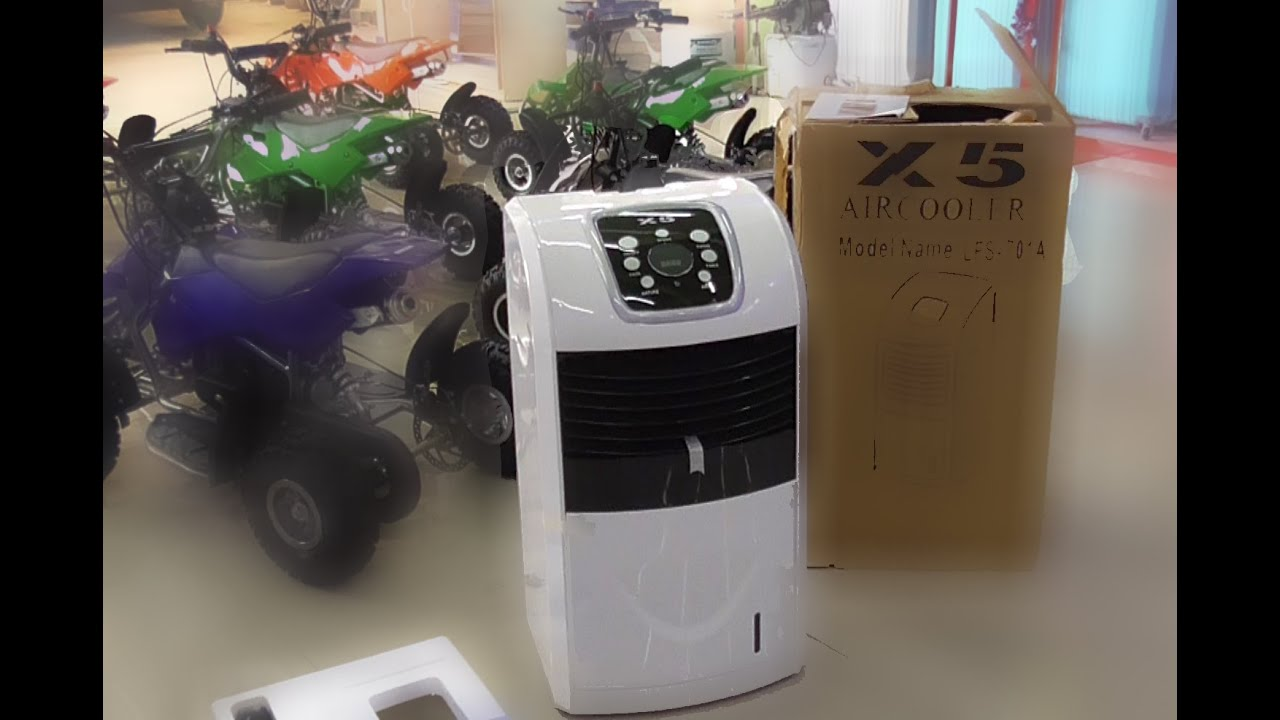 Air Cooler X5 Dengan Atau Es Alat Pendingin Ruangan Youtube Sanyo Ref B130