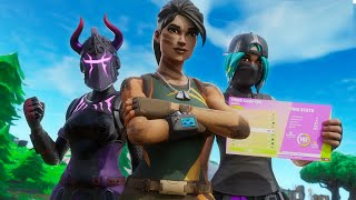 WE CAME 5TH IN FORTNITE TRIOS CASH CUP WITH A NEW TRIO (ALL GAMES)