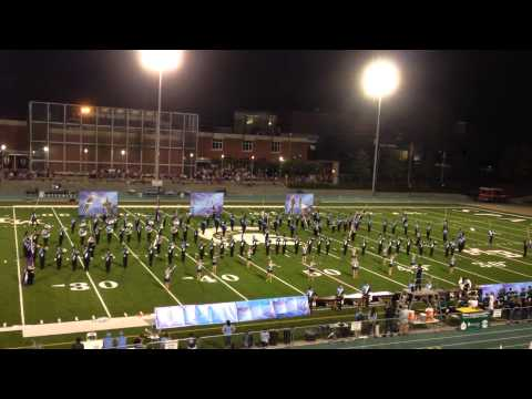JCHS Marching Band vs Moutain Brook 9-26-14