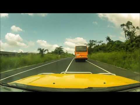 Obuasi to Kumasi Airport - timelapse