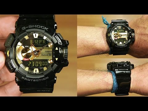 Casio G-shock G'MIX (BLUETOOTH) GBA-400-1A9 : UNBOXING