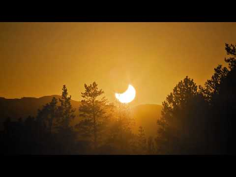 Midnight Sun ECLIPSE - timelapse | Northern Norway